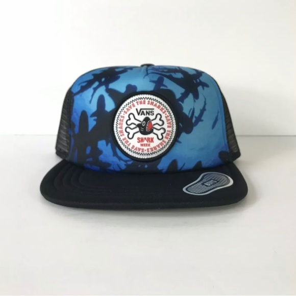 Vans x Shark Week Snapback Trucker Hat